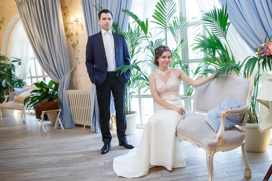 свадебная фотосессия на вднх зимой