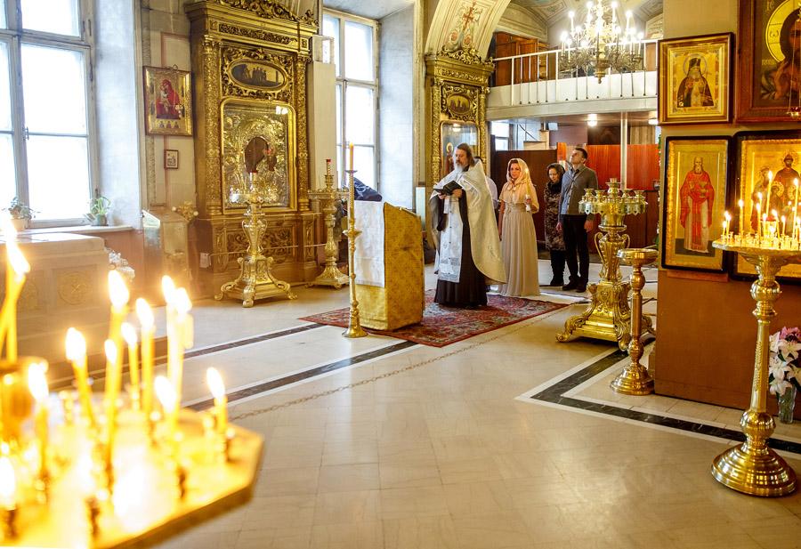 Венчание в Елоховском соборе на бауманской