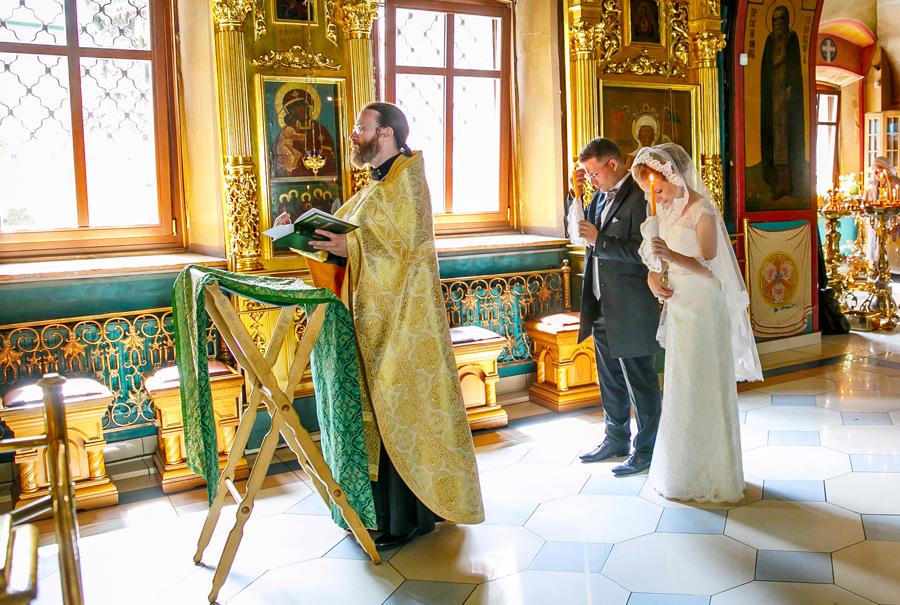 Венчание в в храме успения в гончарах