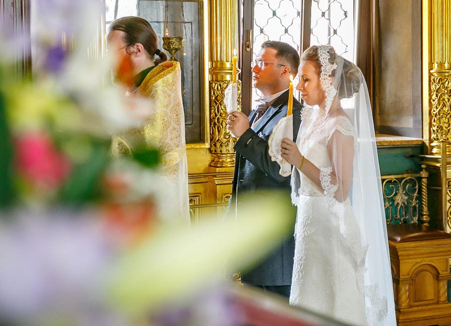 Венчание в успенской церкви в гончарах