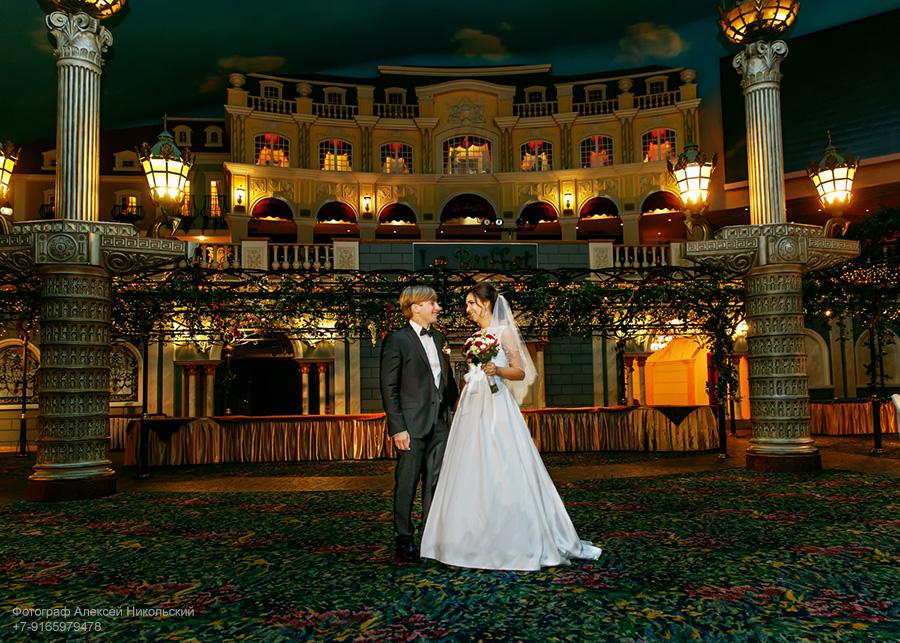 свадебная съемка в отеле корстон в дождь, зимой
