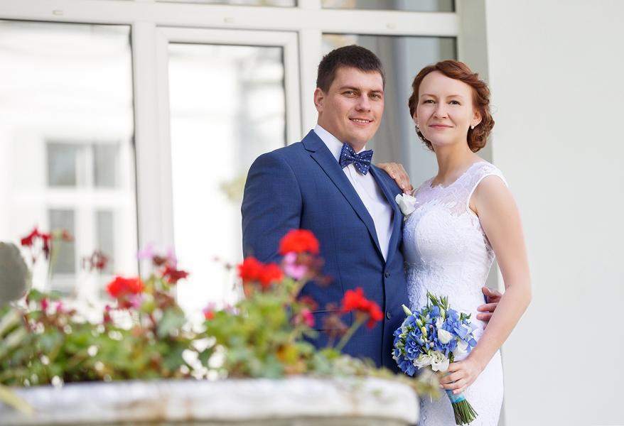 Свадебная фотосессия на ВДНХ