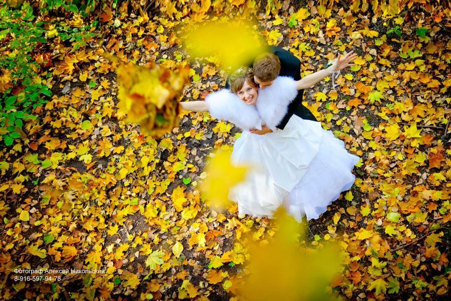 Свадебная фотосъемка Алексей Никольский фотограф на свадьбу осень