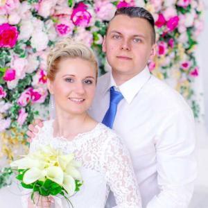 студийная свадебная фотосъемка
