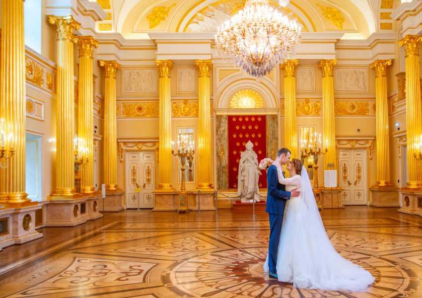 свадебная фотосъемка в царицынском дворце