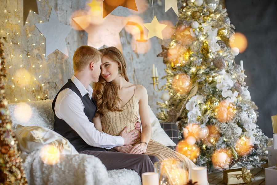 свадьба в студии Новый год