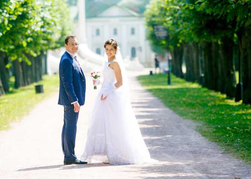Свадебная фотосьемка в Кусково