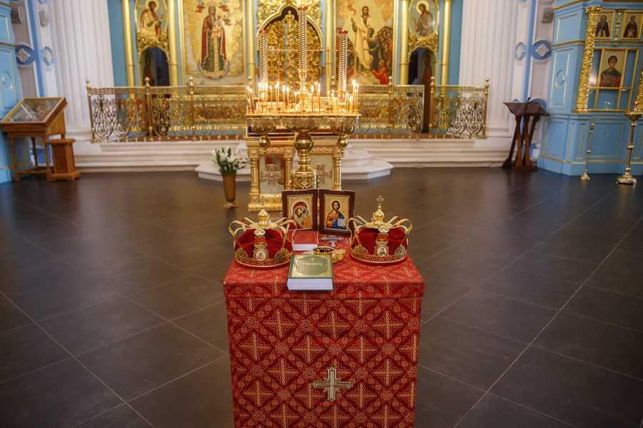 Венчание в Новоиерусалимском монастыре ( Истра)