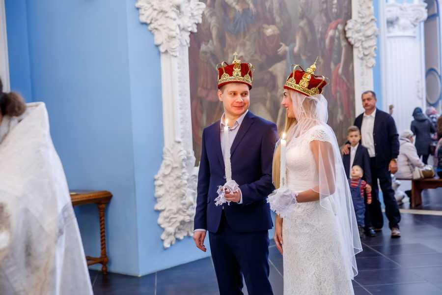 Венчание в Новиерусалимском монастыре фотосъемка