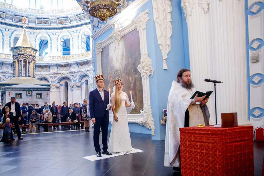 Венчание в Новоиерусалимском монастыре Истра Фотограф