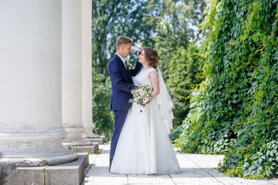 свадебная фотосъемка в ботаническом саду м Владыкино