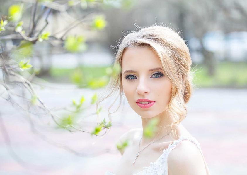 свадебная фотосъемка весной Москва