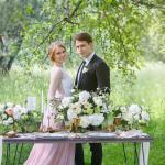 красивая летняя свадьба