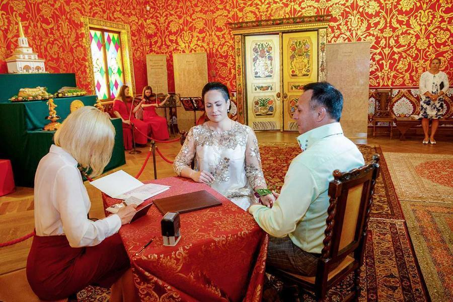 Дворец Алексея михайловича в Коломенском, регистрация фото