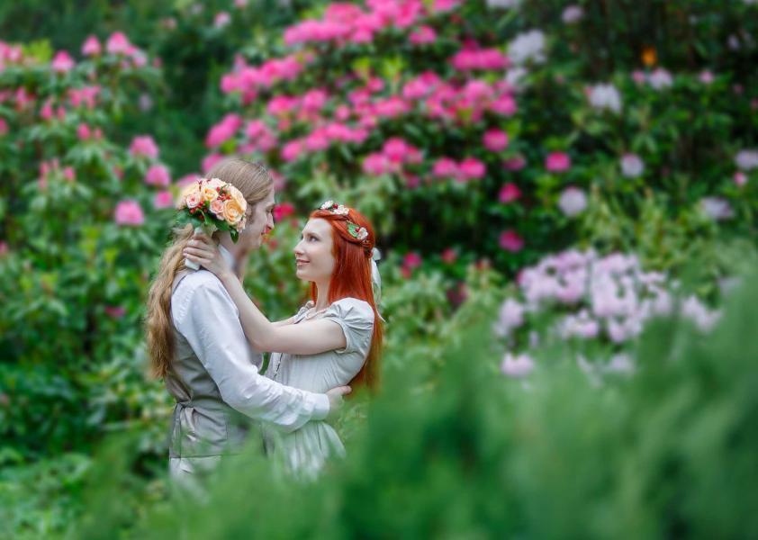 свадебная фотосессия в мае Фотограф
