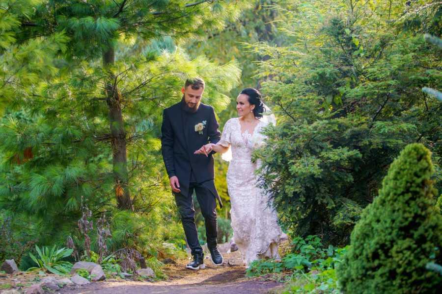 журнальные свадебные фото