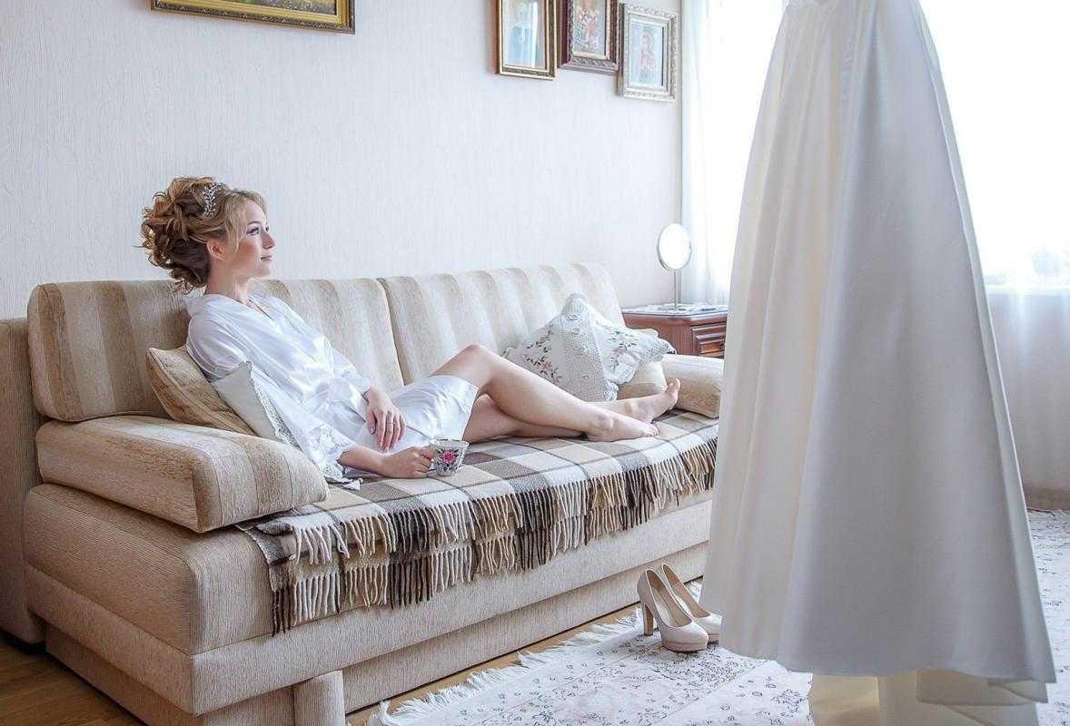утро невесты и сборы невесты дома