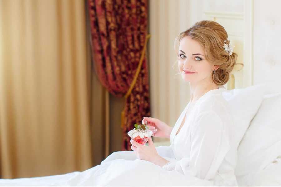 утро невесты фото в отеле