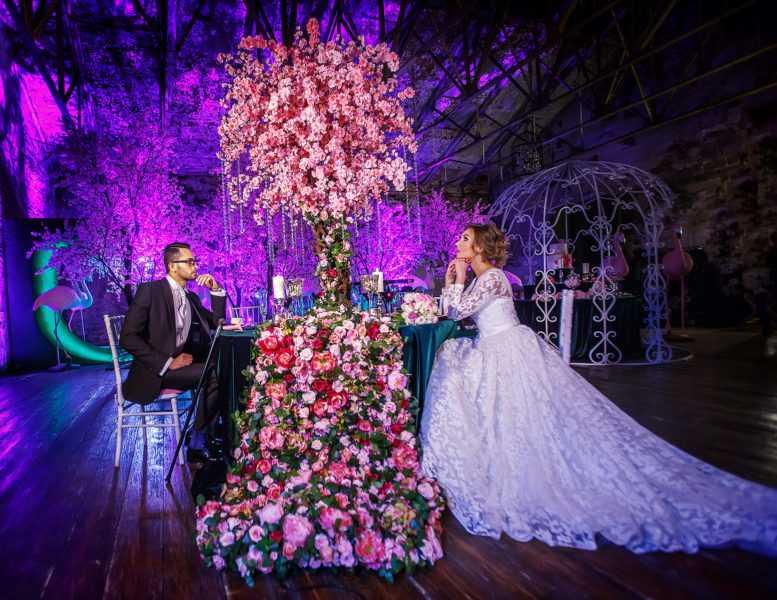 выездная регистрация. свадьба зимой