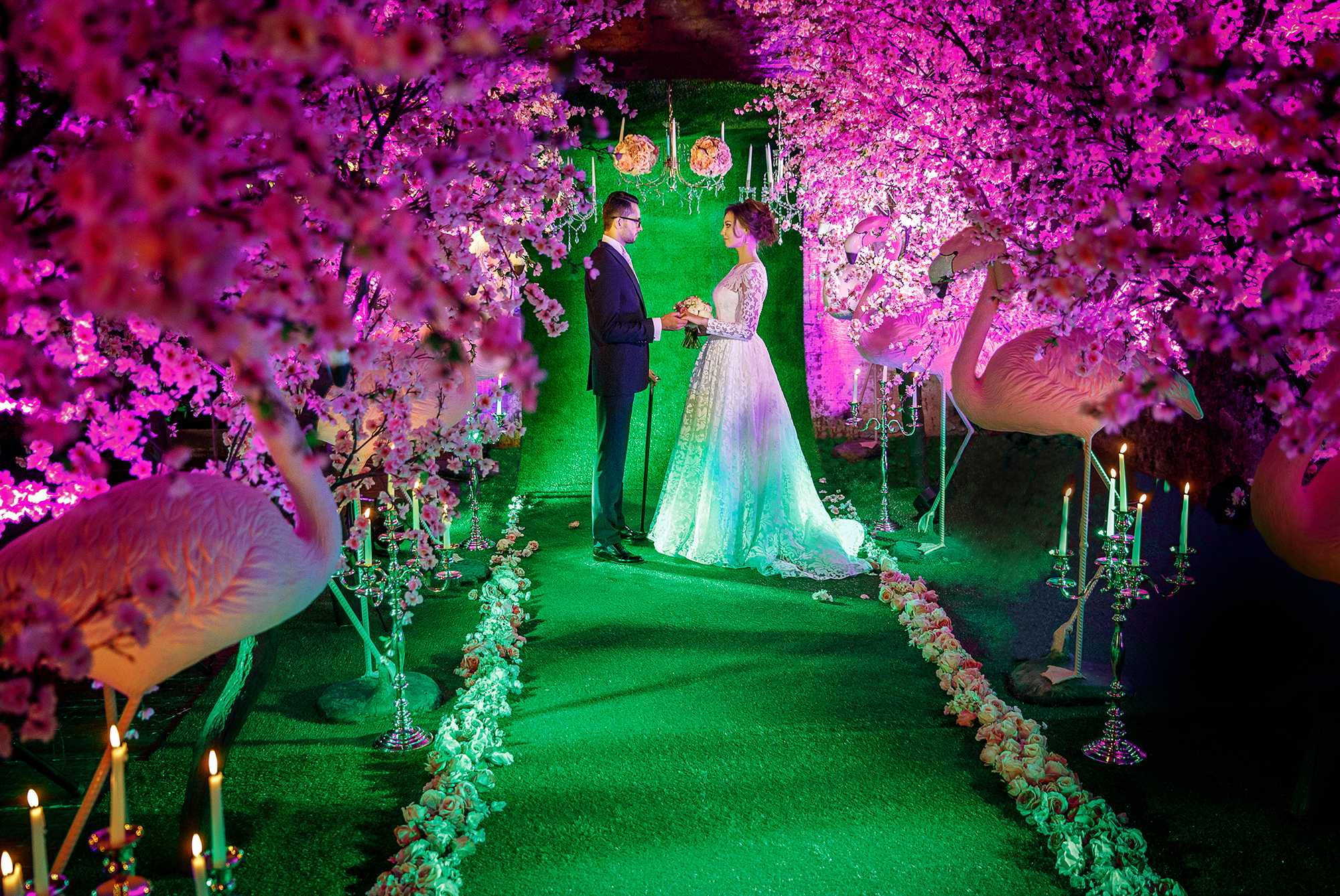 выездная регистрация свадьба в лофте