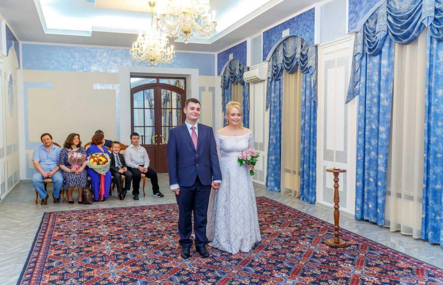 Регистрация брака в 3 дворце бракосочетания в текстильщиках