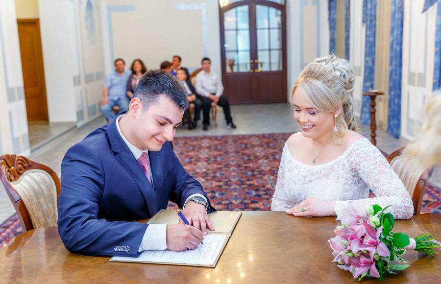 Регистрация брака в 3 дворце бракосочетания в текстильщиках фото