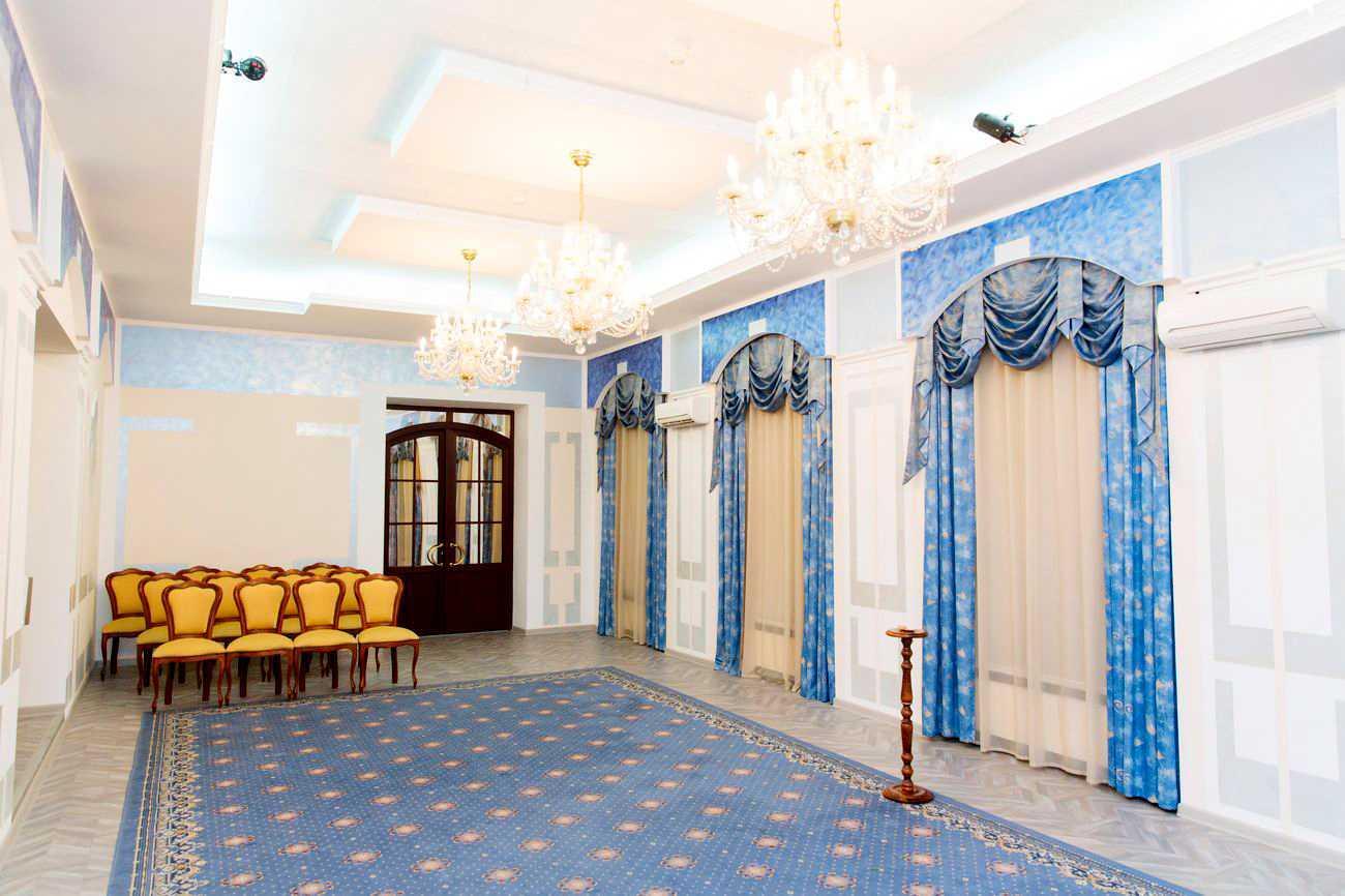 Интерьр зала регистрации дворец бракосочетания 3 в кузьминках