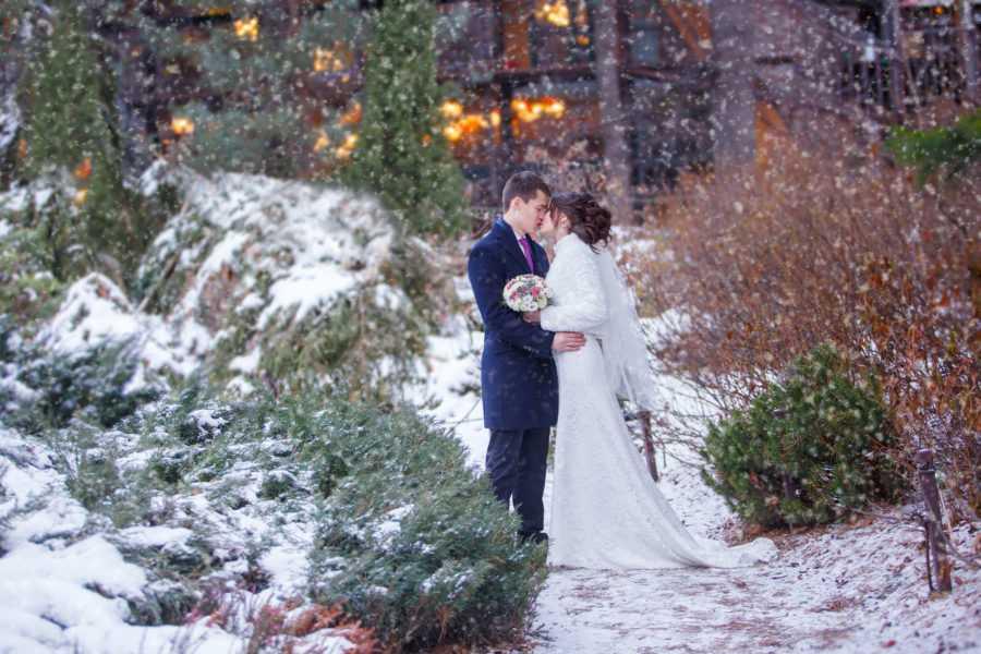 Свадьба зимой фотосессия Алексей Никольский