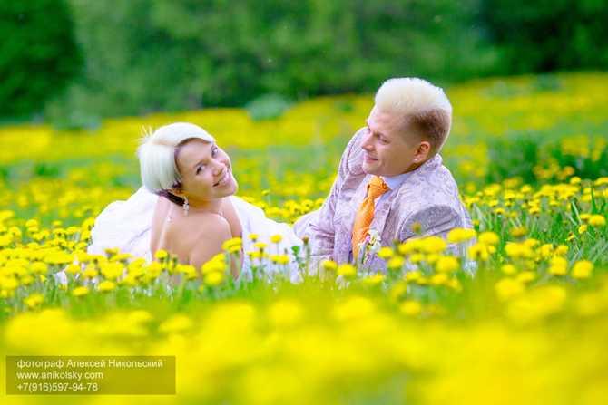 свадьба в мае фотосессия
