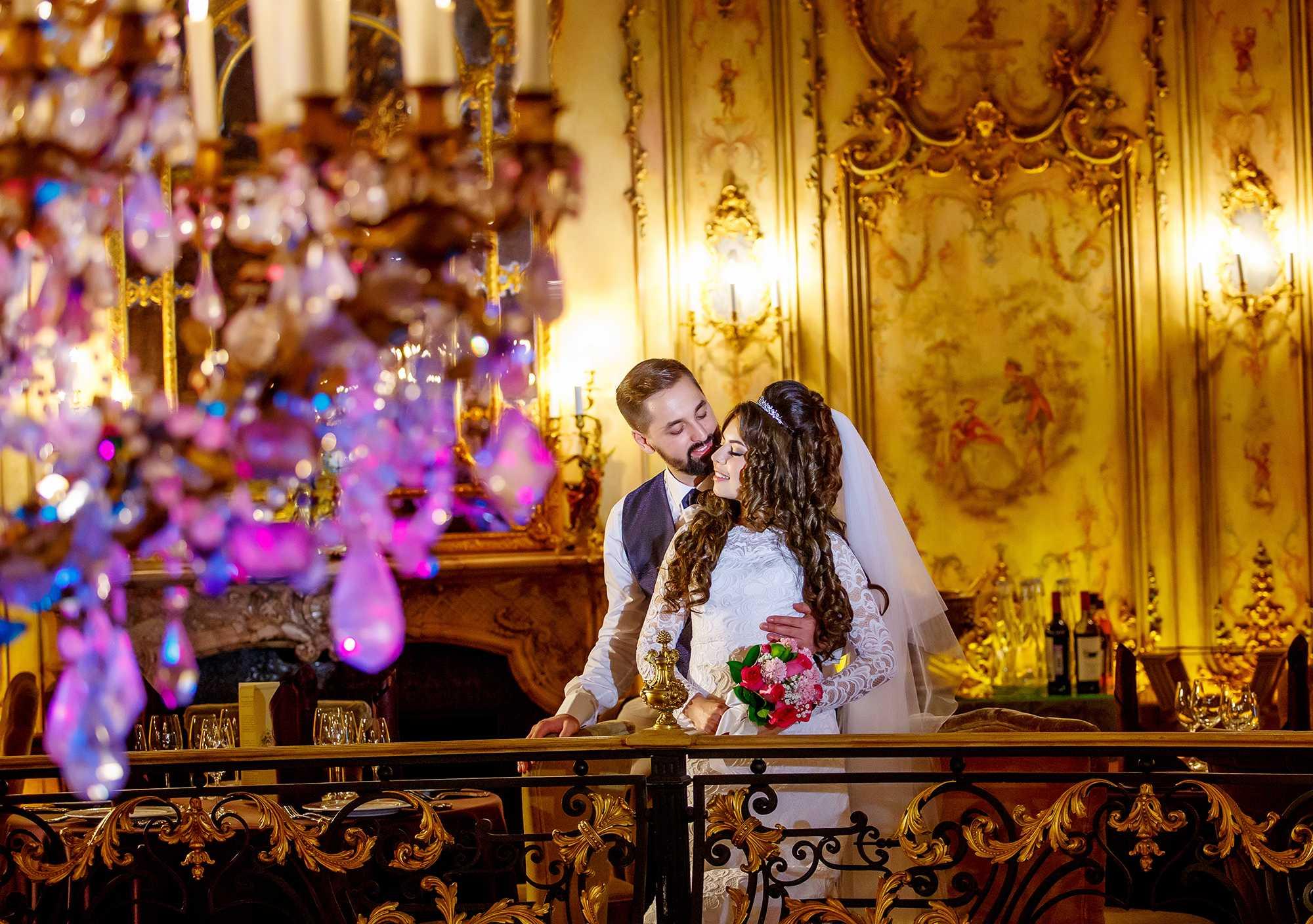 Свадебная фотосессия в ресторане Турандот Фотограф Алексей Никольский