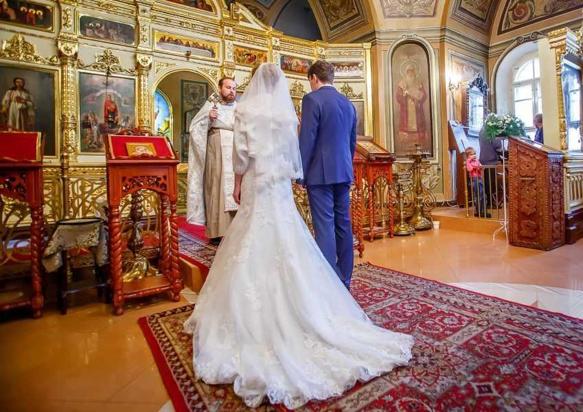 Венчание на Чистых прудах Москва