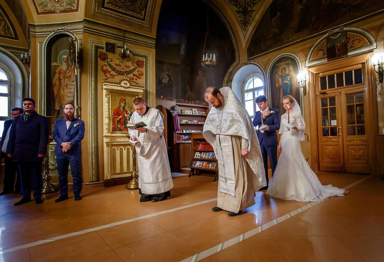 Венчание, как проходит
