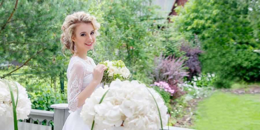 свадьба на даче