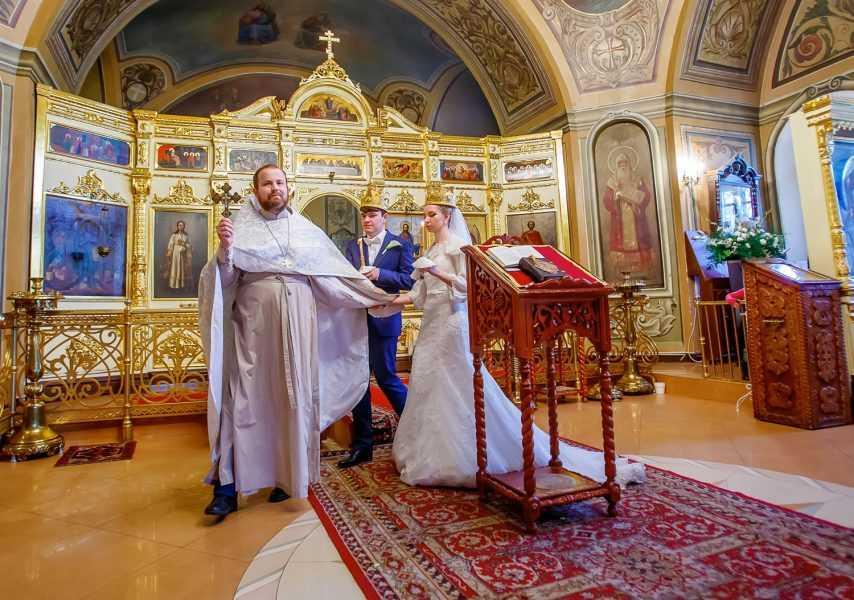 Венчание на Чистых прудах Москв