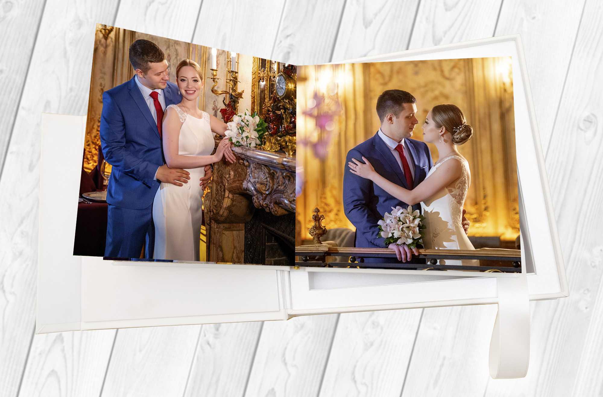 свадебная фотокнига на свадьбу