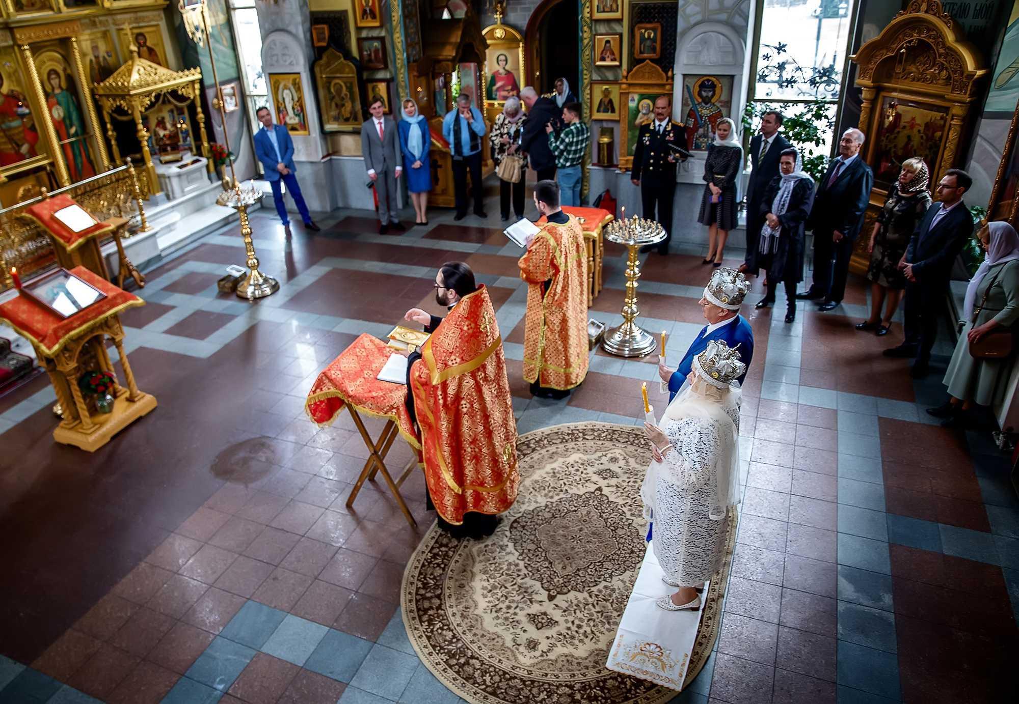 Венчание фотосъемка в храме