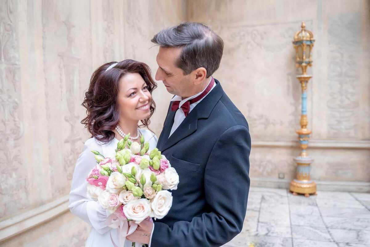 возрастная свадьба