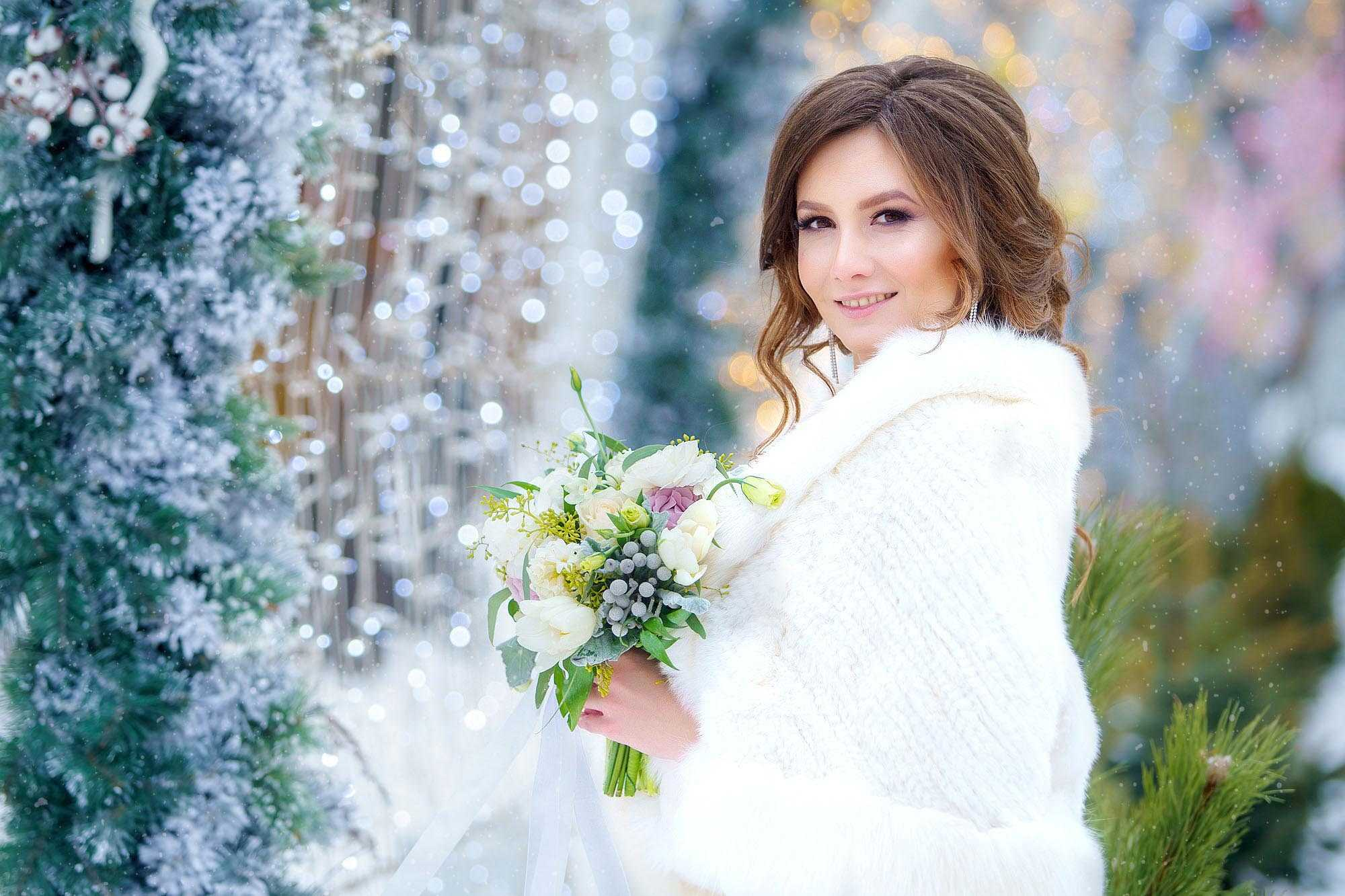 Свадебная фотосъемка Алексей Никольский фотограф зимой на свадьбу