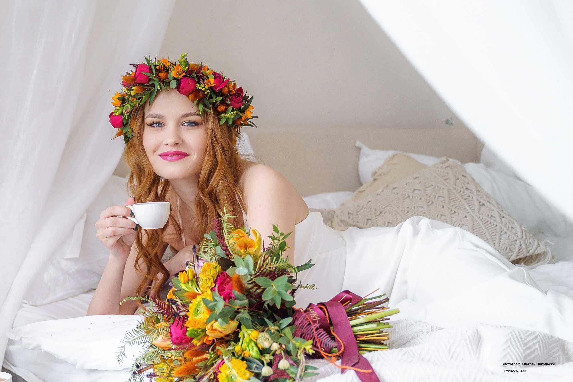 Свадебная фотосъемка Алексей Никольский фотограф на свадьбу, утро невесты Алексей Никольск