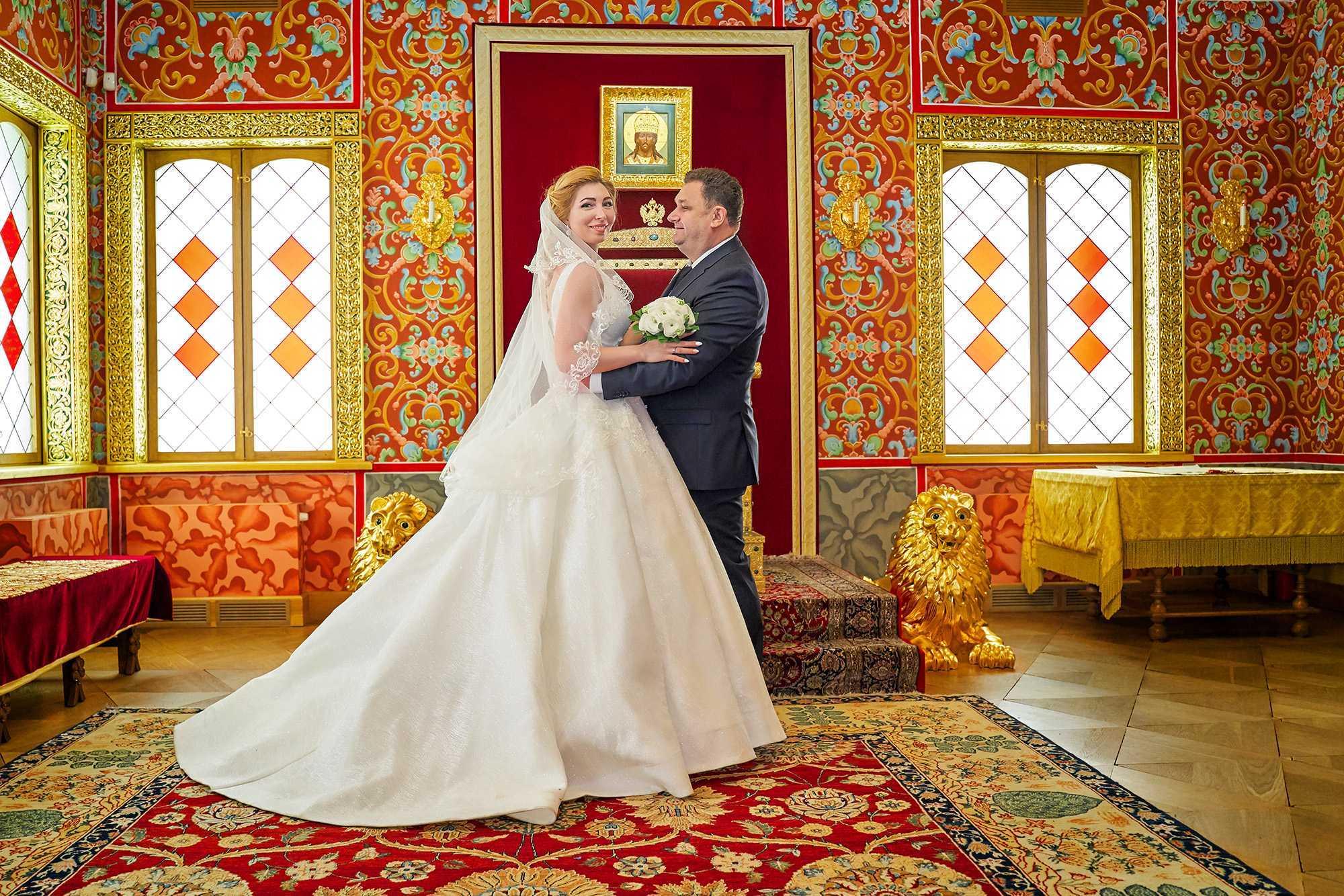 Свадьба во дворце Алексеей Михаловича в коломенском