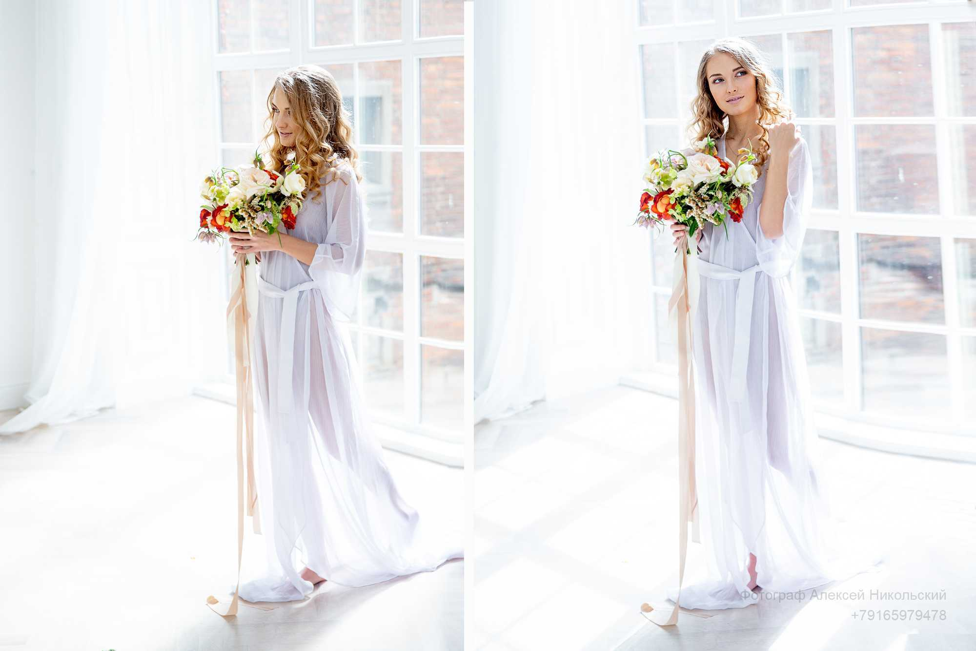 свадебная фотосессия утра невестыфотограф Алексей Никольский