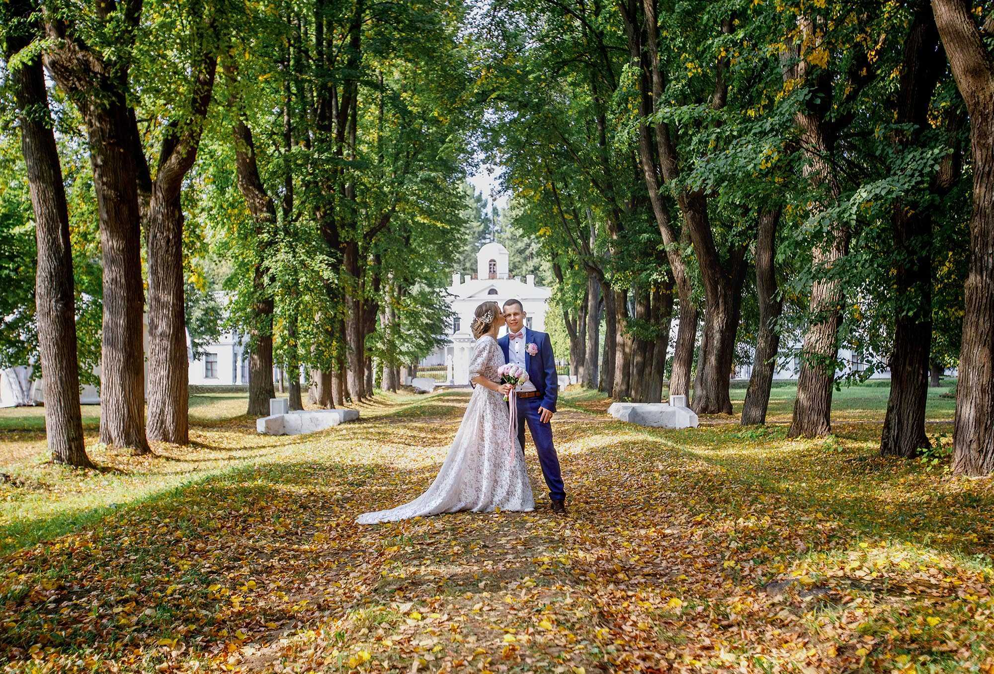 Свадебная фотосъемка усадьба Середняково
