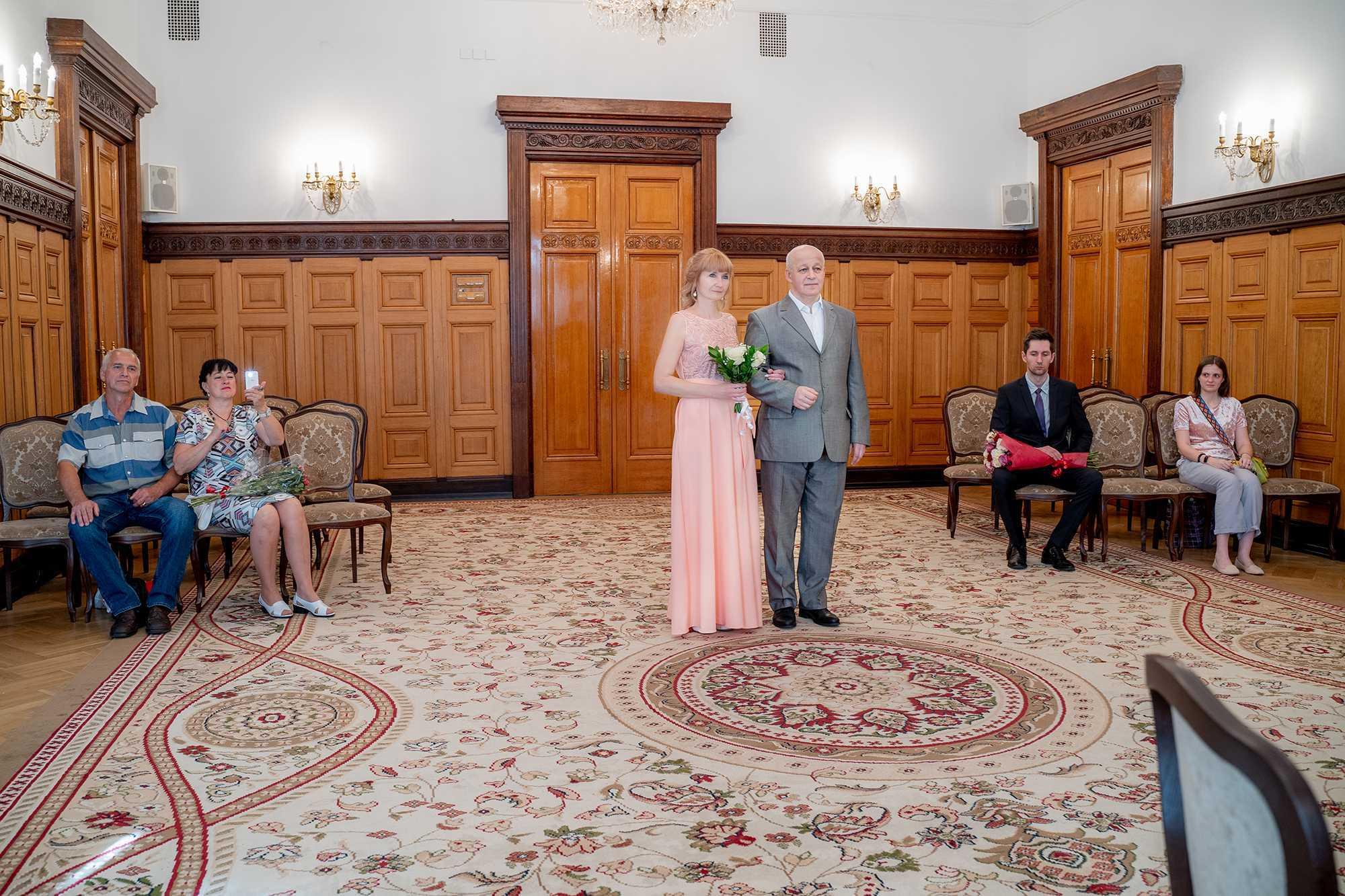 свадьба в 50 лет