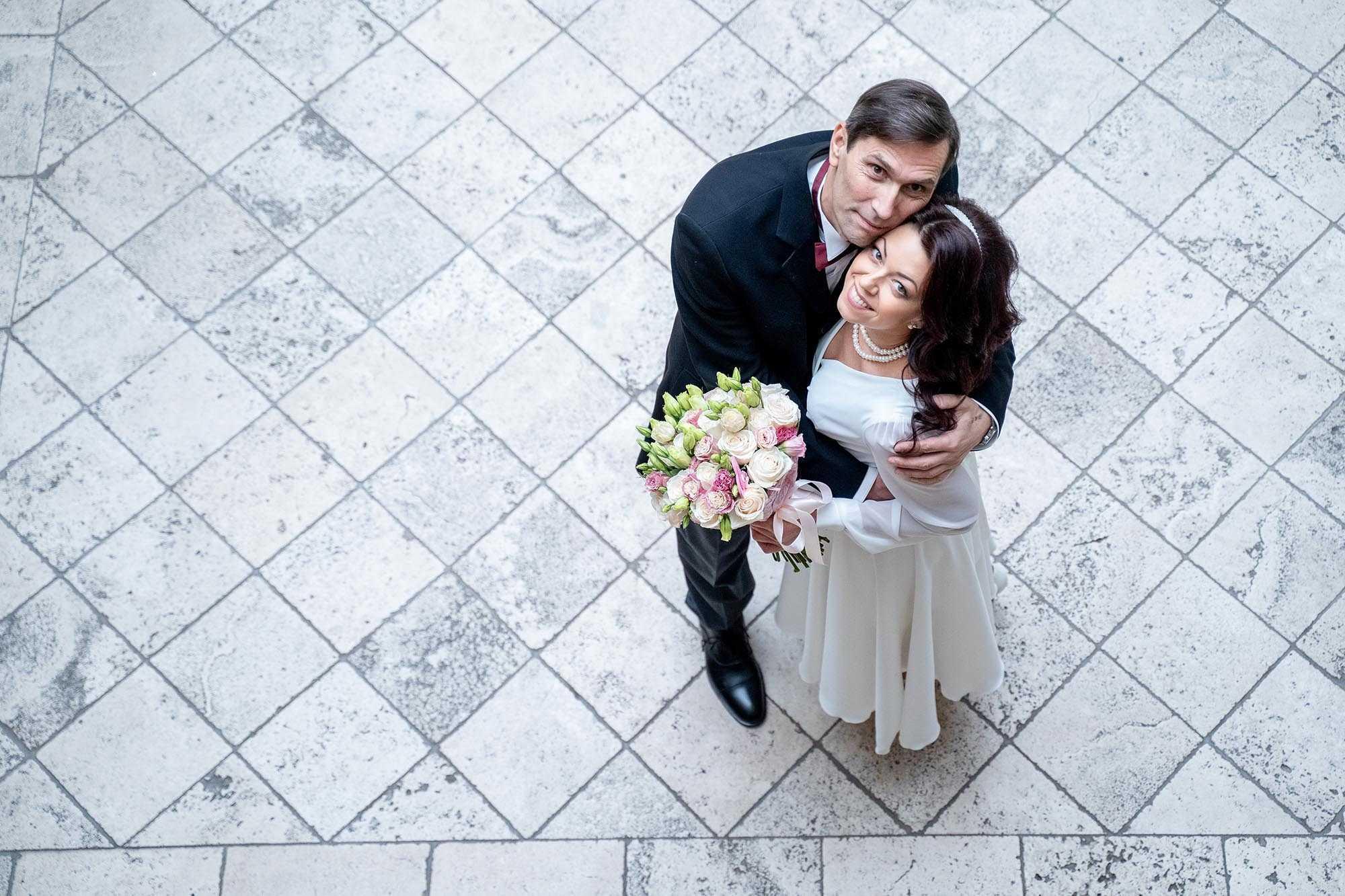 свадебная фотосъемка возрастная свадьба